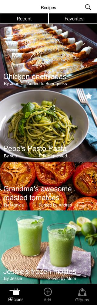 Collaborative Cookbook